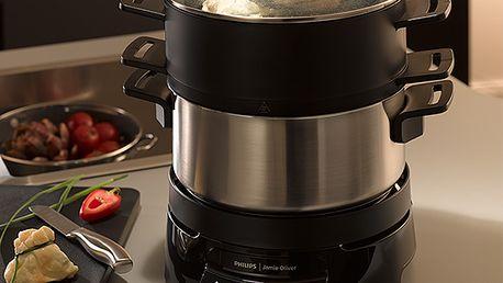 Kuchyňský robot Philips Jamie Oliver Homecooker, snadné vaření bez dohlížení!
