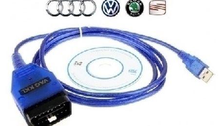 Diagnostický kabel USB KKL VAG u nás za bezkonkurenční cenu 249 Kč !