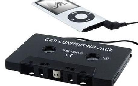 Kazetový MP3/CD adapter. Poslouchejte oblíbené MP3 ve Vašem autoradiu.