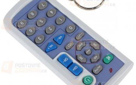 Mini dálkové ovládání k TV s klíčenkou a poštovné ZDARMA! - 19811430