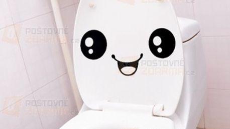 Vtipná nálepka na wc a poštovné ZDARMA! - 20911534