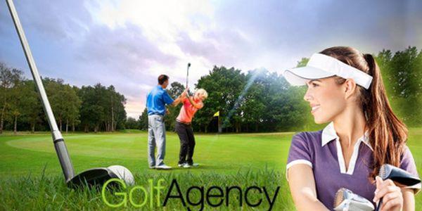 GOLFOVÝ KURZ all inclusive jen za 6990 Kč PRO DVA! Certifikát a zisk HCP 54, s trenérem PGA v Poděbradech! 15 LEKCÍ, zapůjčení golfové VÝBAVY a míčů, golfová rukavice, balíček pro začínajícího golfistu, publikace a 3 kontrolní lekce!