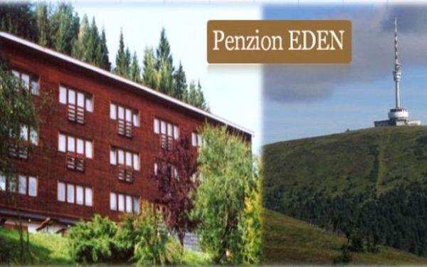 JESENÍKY přímo pod Pradědem - 6 dní pro 2 v Penzionu Eden s polopenzí, slevami a krásnou přírodou.