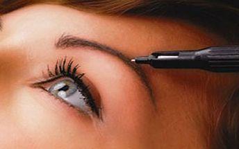 Profesionální permanentní make-up jen za 990 Kč!
