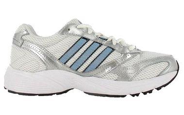 Pánské bílo-stříbrno-modré tenisky Adidas