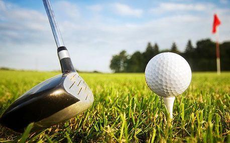 Vstup pro 2 a 100 míčků v Golf Resort Průhonice