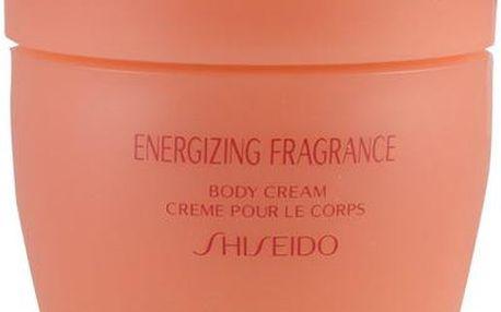 Shiseido Energizing Fragrance 200ml Tělový krém W