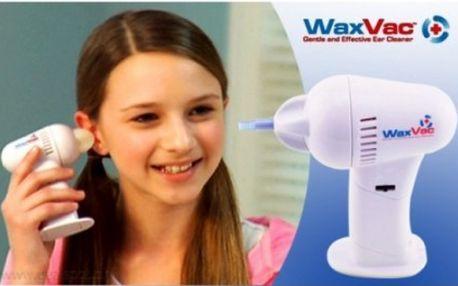 Jednoduchý přístroj na odstranění přebytečného ušního mazu. Bezpečný a pohodlný čistič pro celou rodinu za báječnou cenu!