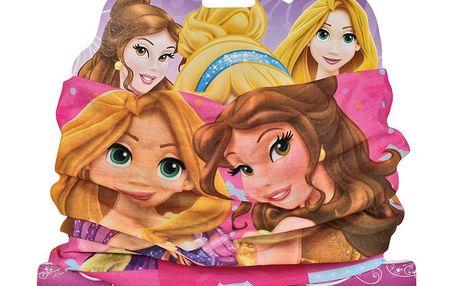 Princess dívčí růžový šátek