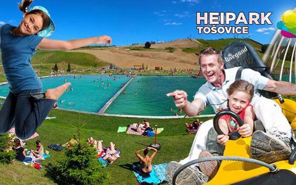 HEIpark s koupáním a mořem aktivit pro všechny. Letní odvaz pro celou rodinu! Ubytování v 4* hotelu Heipark, přírodní koupaliště, trampolíny, bobovka a rodeo na býkovi!