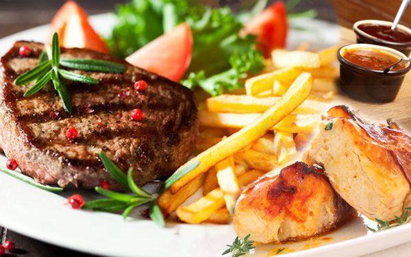 Masová hostina pro pořádné jedlíky