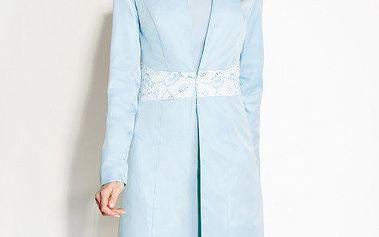 Dámský světle modrý kabátek Rylko