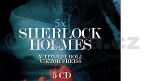 Audiokniha Sherlock Holmes 5 CD