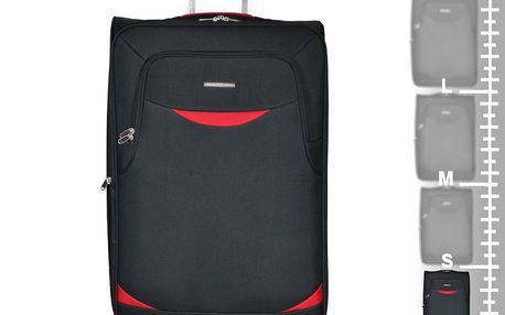 Unicorn Kabinové zavazadlo UNICORN T-35/4-45 - černá