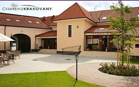 Pobyt ve vinném domě Chateau Krakovany s polopenzí