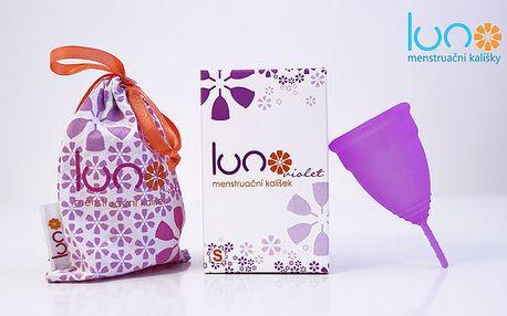 Menstruační kalíšek LUNO Violet s dopravou zdarma