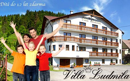 Rodinný pobyt s polopenzí ve Ville Ľudmila