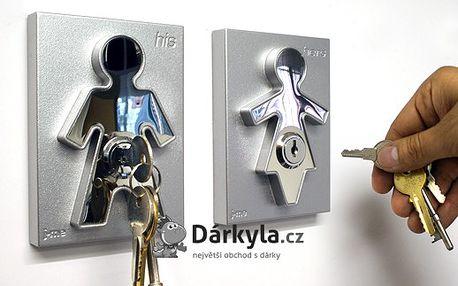 Držák na klíče - panáček