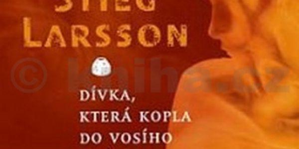 Audiokniha Dívka, která kopla do vosího hnízda