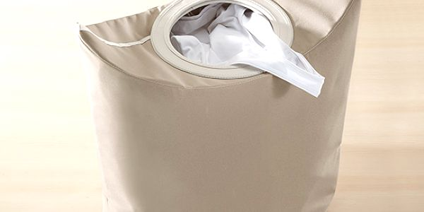 Taška na prádlo, flexibilní alternativa k prádelnímu koši