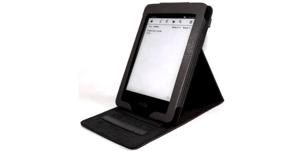 C-Tech Protect pouzdro pro Amazon Kindle Paperwhite se stojánkem, AKC-07, černé