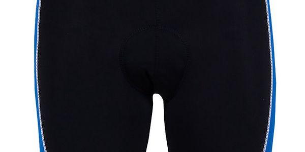 Pánské černo-modré cyklistické šortky Izas