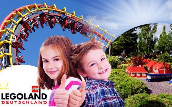 Užijte si jeden den v jednom z nejzábavnějších parků v Evropě – Legoland v Německu. Zájezd pro 1 osobu s dopravou klimatizovaným autobusem i s celodenní vstupenkou. Fascinující svět Lega s 50 atrakcemi, show i workshopy, které nadchnou děti i dospělé.