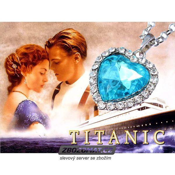 Náhrdelník Srdce moří Titanic - ozdobte se legendárním šperkem!