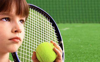 Příměstský tenisový tábor pro děti v termínu 14. - 18.7.2014