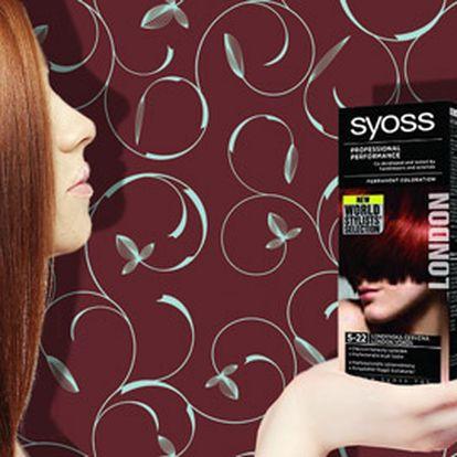 Barva na vlasy Syoss Professional Performance za 75 Kč!