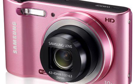 Mikrotenký fotoaparát Samsung SMART CAMERA WB30F Pink