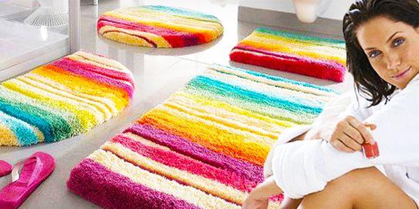 Koupelnová předložka Domoline ve veselých barvách: 2 varianty!