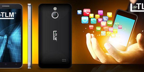 Chytrý mobilní telefon na 2 SIM