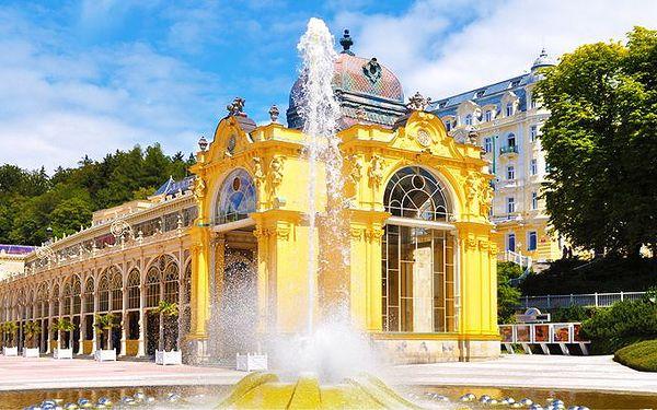 5denní pobyt v hotelu Pelikán v Mariánských Lázních pro 2 osoby s polopenzí