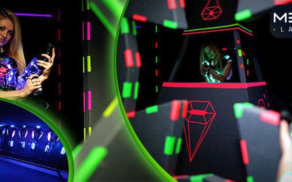 Letní akce - laser game pro 1-10 hráčů!