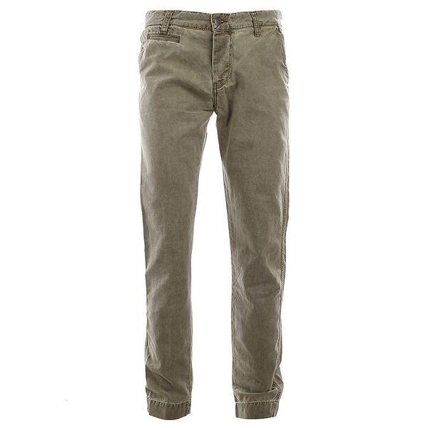 Pánské šedozelené kalhoty Big Star