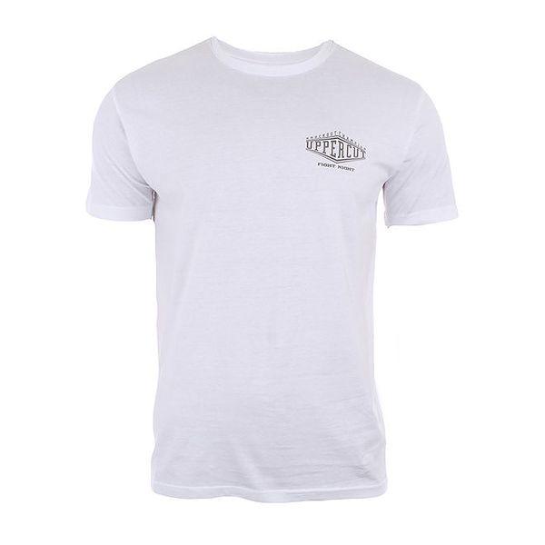 Pánské bavlněné tričko v bílé barvě Big Star
