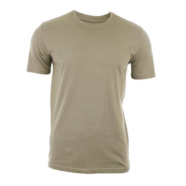 Pánské šedohnědé triko s krátkým rukávem Big Star