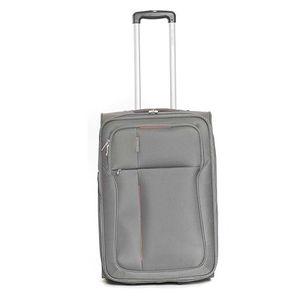 Středně velký šedý cestovní kufr Ravizzoni