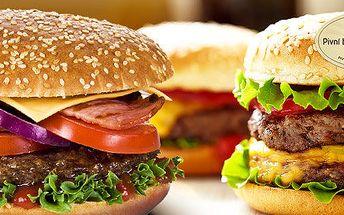 Čtyři libovolné hamburgery od Marleyho