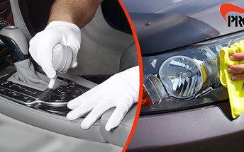 Čištění interiéru nebo celého auta v PRO-CLEAN