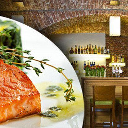 Letní lososové menu pro dva v Tulip Restaurantu