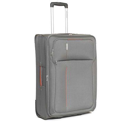 Velký šedý cestovní kufr Ravizzoni