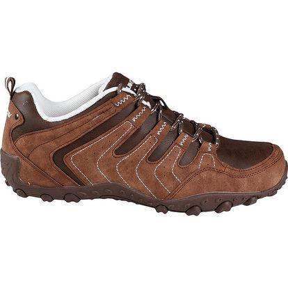 Pánské hnědé boty se šněrováním Authority