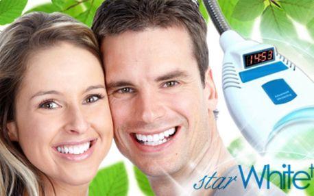 Bezperoxidové BĚLENÍ ZUBŮ speciálním gelem Star White z USA za fantastických 549 Kč! Šetrná a bezpečná metoda pro krásný zářivý usměv, který celkově Vaši image! Dopřejte si ten skvělý pocit a ušetřete 66% z původní ceny!