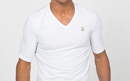 Pánské bílé podvlékací tričko Roberto Cavalli
