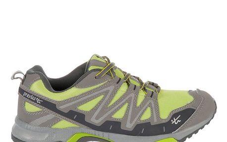 Pánské šedozelené běžecké boty Praylas