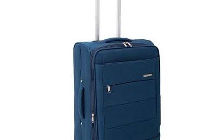 Malý petrolejově modrý kufr Ravizzoni