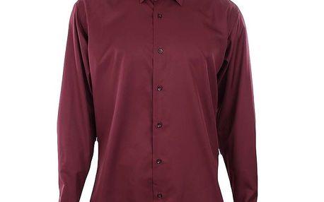 Pánská vínová košile Dicotto