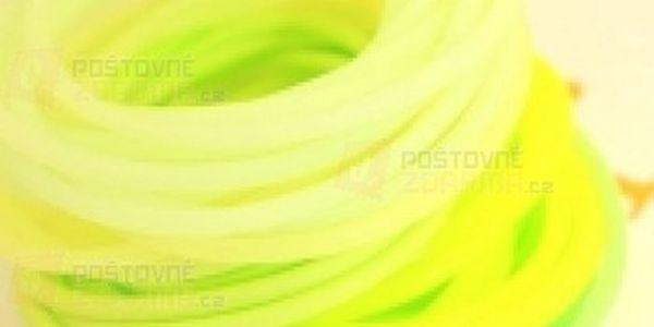 10 kusů fosforeskujících gumiček a poštovné ZDARMA! - 21611807